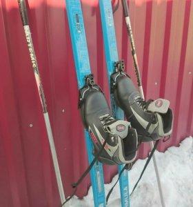 🎿 Продам лыжи с ботинками