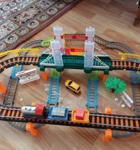 Железная дорога+автотрек