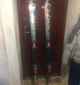 Продам горнолыжные лыжи россингеол
