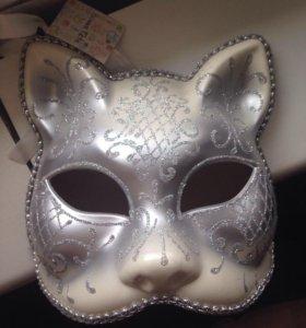 Карнавальная маска новая!