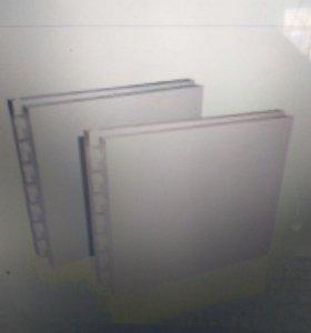 Плита пазогребневая пустотелая 80×500×667 мм