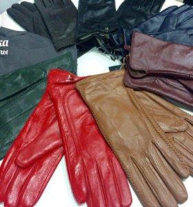 Женские перчатки - натуральная кожа. НОВЫЕ