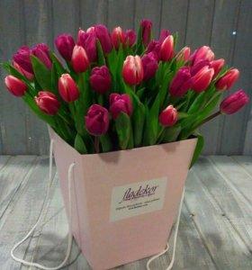 Тюльпаны на заказ