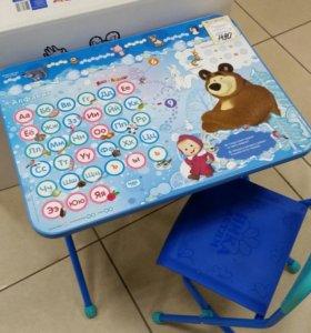 Комплект Детской мебели Ника маша и медведь Азбука