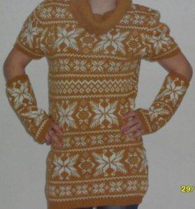 Тёплое платья