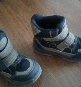 Ботинки осень-зима 28р.