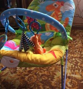 Кресло-качалка Весёлый динозаврик