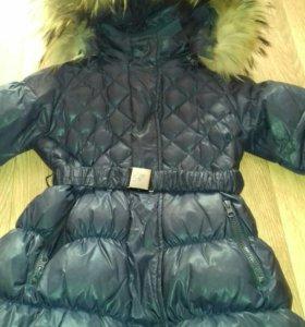 Пальто для девочки до 122