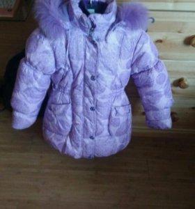 Зимняя очень теплая курточка