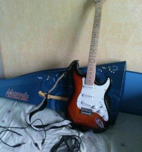Гитара с усилителем + бонус