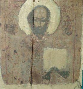 Икона. Николай Угодник, начало 19 века