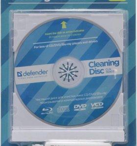 Чистящий диск для линз CD/DVD/BLUE-RAY