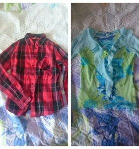 Пиджаки, блузки и рубашка