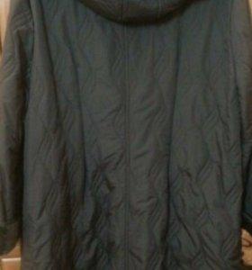 Пальто на флисе (демисезонное)