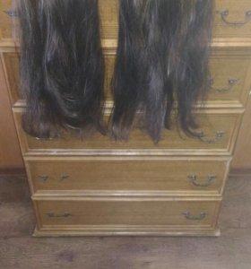 Накладные волосы на клеммах,2 шт.