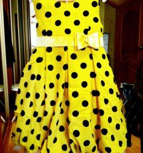 Нарядное платье для юной принцессы