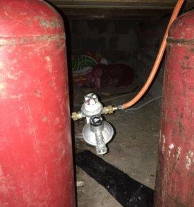 Газобалонное оборудование для котла