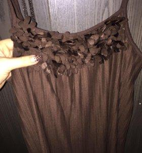 Платье гофрированное Идеальное
