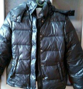 Тёплая пуховая куртка!