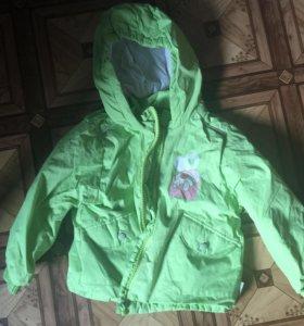 Куртка детская на 4-5 лет