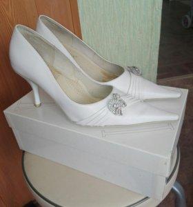 Свадебные туфельки р.37—38