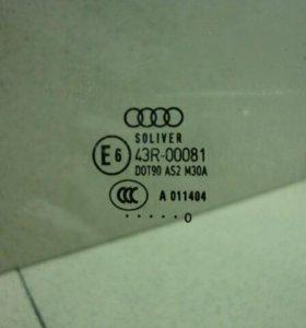 Стекло двери задней левой Audi A6 [C6,4F]