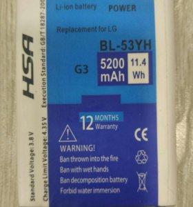 LG G3 аккумулятор