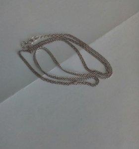Серебряная цепочка (мужская)