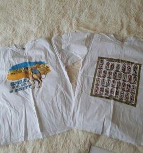 Новые футболки 100% хлопок
