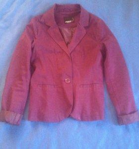 Пиджак тёмно-фиолетовый S