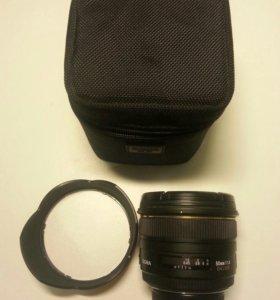 Обьектив Sugma AF 50mm f/1,4 EX DG HSM для Nikon