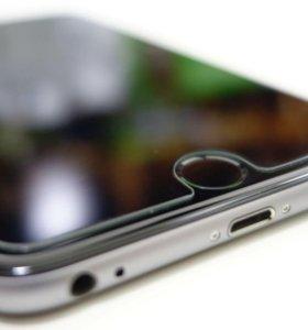 Защитные стекла на iphone 5, 6, 6+, 6S, 6S+,7, 7+