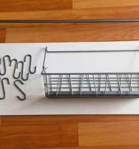 Рейлинг для кухни ИКЕА +корзина