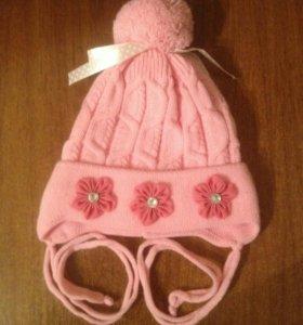 Новая демисезонная детская шапочка