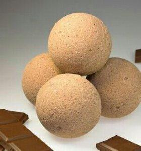Шоколадная бомбочка для ванны 🍫