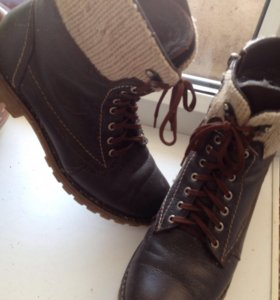 Ботинки зимние (тимберленды)