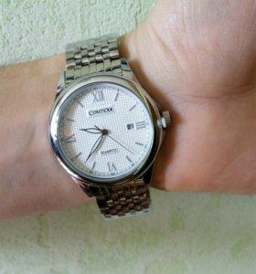 Часы Comtex новые, с датой