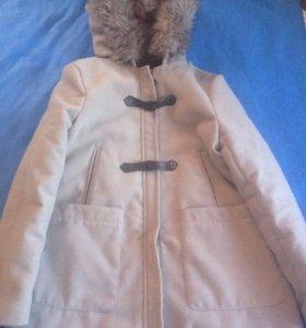 Пальто с капюшоном M