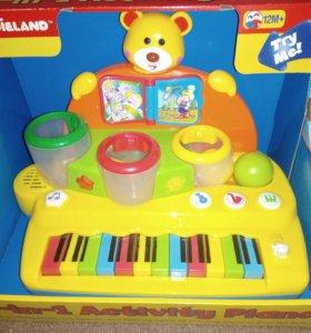 Развивающее музыкальное пианино 2 в 1.
