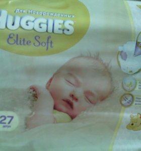 """Памперсы,,huggies""""elite soft 1,2,3!!!"""