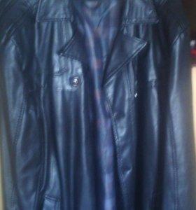Куртка кож зам размер 58