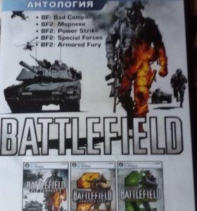 Анталогия игр для PC BATTLEFIELD 5 в 1