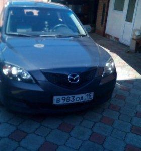 Автомобиль Mazda 3 🚗