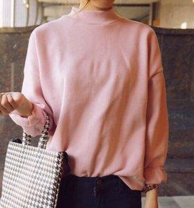 Новый Розовый свитшот