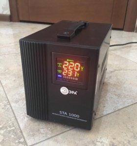 Стабилизатор напряжения ЭРА STA 1000