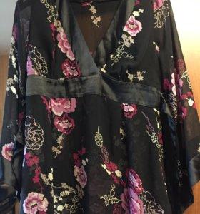 Нарядная блуза р. 48-50