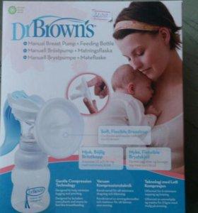 Молокоотсос Dr. Browns