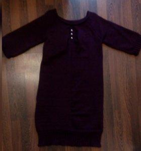 Платье вязаное на 52-54 р