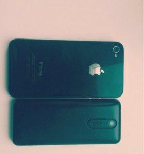 Айфон 4 8g( фонарик в подарок)