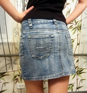 Юбка джинсовая 42р